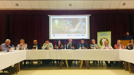 LA COMUNIDAD REGIONAL UNIÓN FIRMÓ EL ACUERDO SOCIOAMBIENTAL