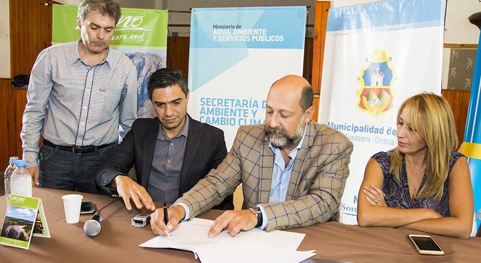 LA COMUNIDAD REGIONAL SAN ALBERTO FIRMÓ EL ACUERDO SOCIOAMBIENTAL
