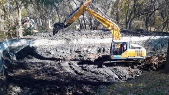El vivero forestal de Santa Rosa de Calamuchita recupera su represa