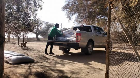 Centros de rescate de animales recibieron ayuda de la Provincia