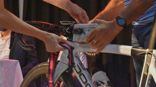 Ciclistas colaboraron en un proyecto para medir la contaminación del aire
