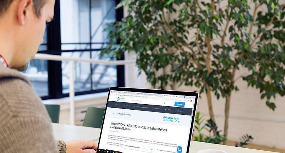 Nueva modalidad virtual y gratuita para la Inscripción al Registro Oficial de Laboratorios Ambientales